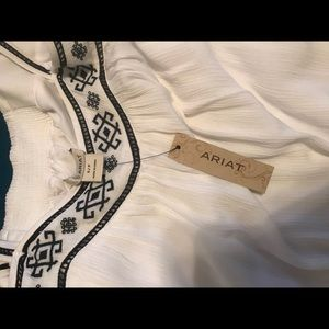 ARIAT brand dress. NWT. Never worn. Size small.